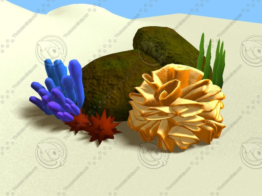 Coral royalty-free modelo 3d - Preview no. 1