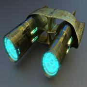 Star Drive 3d model