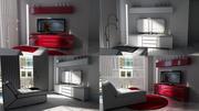 Oturma odası 2013 3d model