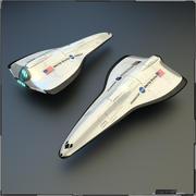 Navette spatiale 3d model