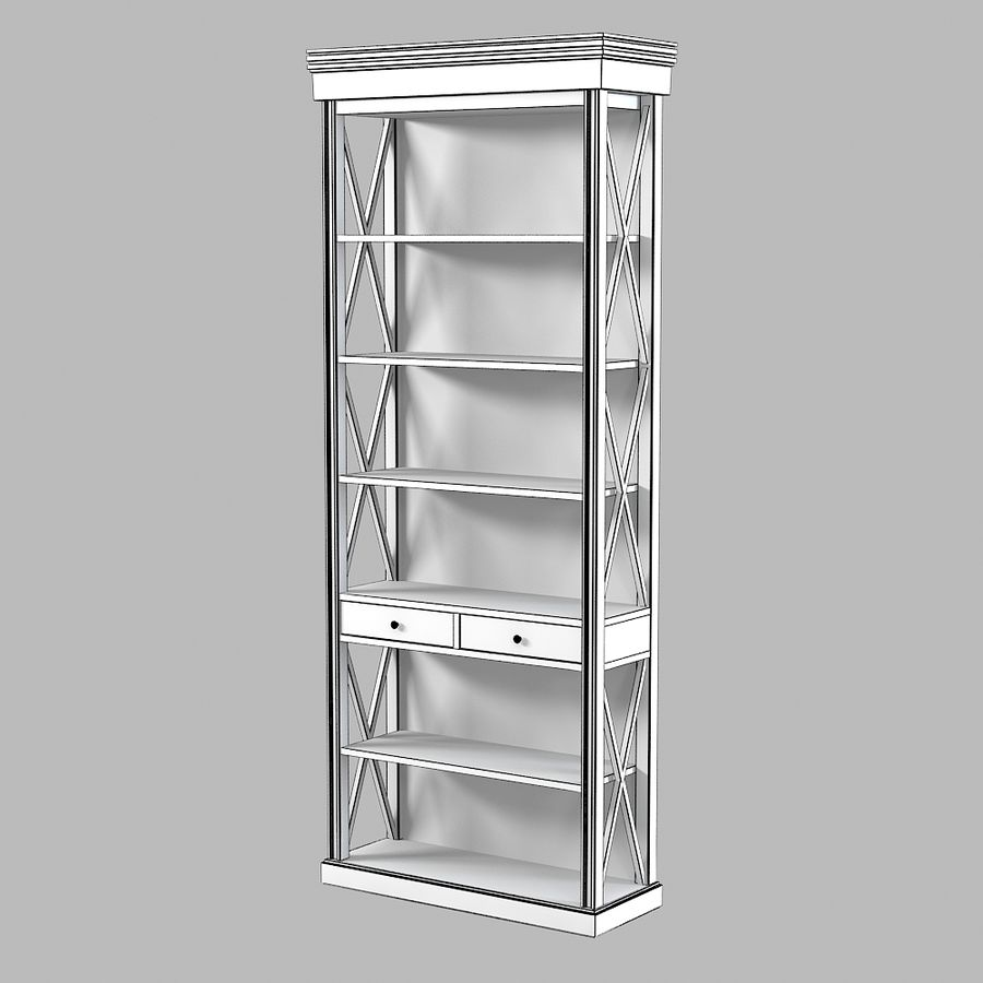 Gabinete de interiores de Lehome royalty-free modelo 3d - Preview no. 5