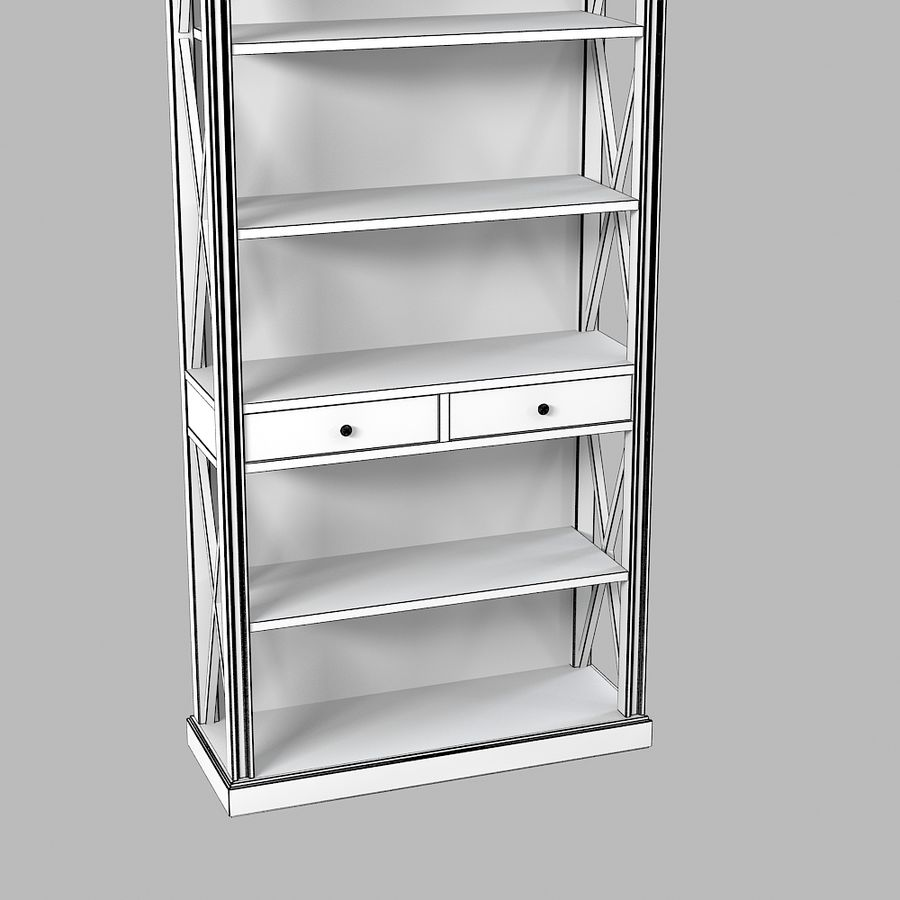 Gabinete de interiores de Lehome royalty-free modelo 3d - Preview no. 4