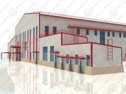 factory building(2) 3d model