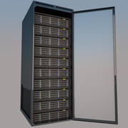 서버 랙 3d model