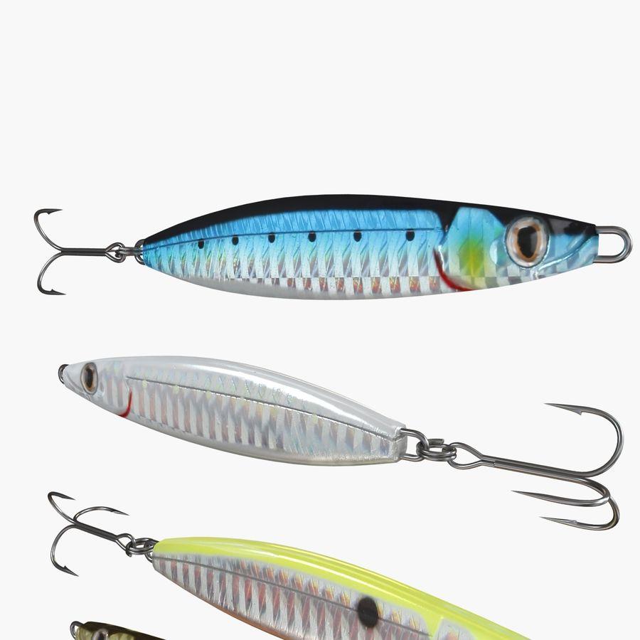 Рыболовная приманка 02 royalty-free 3d model - Preview no. 2