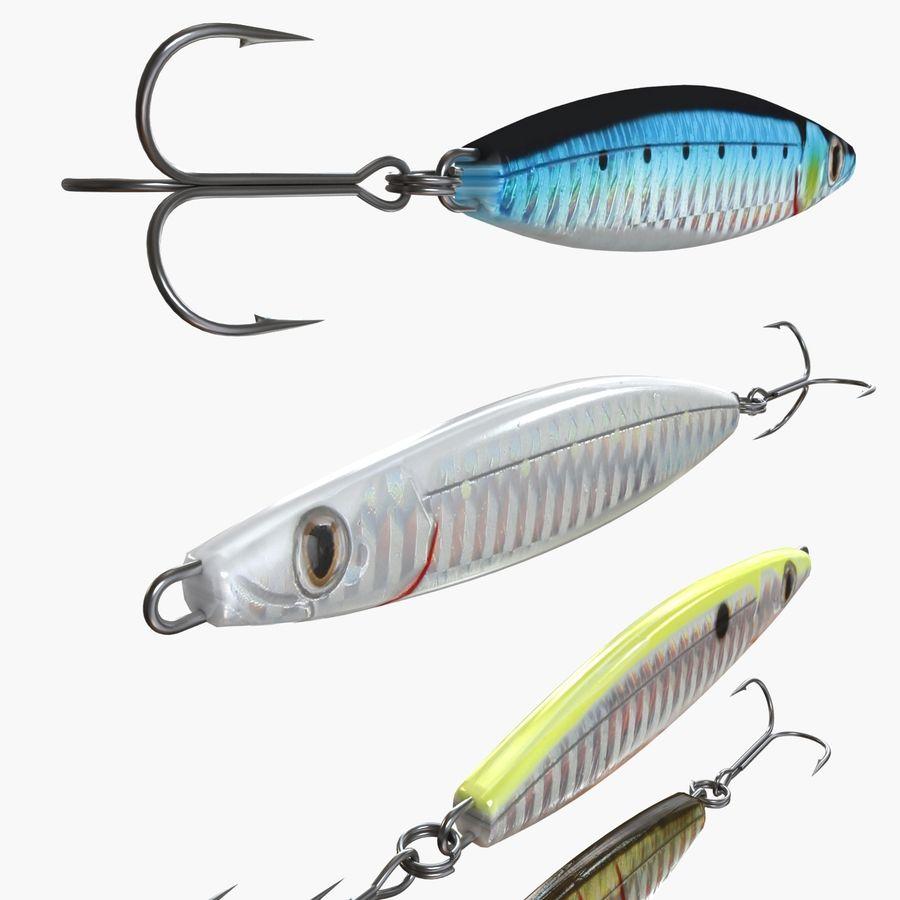 Рыболовная приманка 02 royalty-free 3d model - Preview no. 3