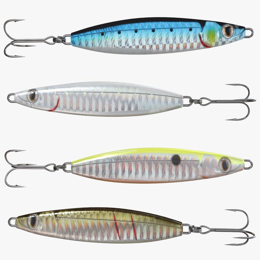 Рыболовная приманка 02 royalty-free 3d model - Preview no. 1