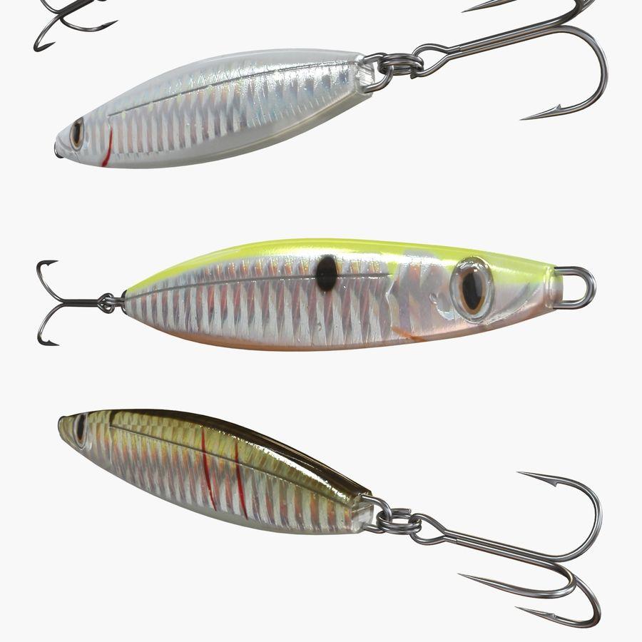 Рыболовная приманка 02 royalty-free 3d model - Preview no. 6