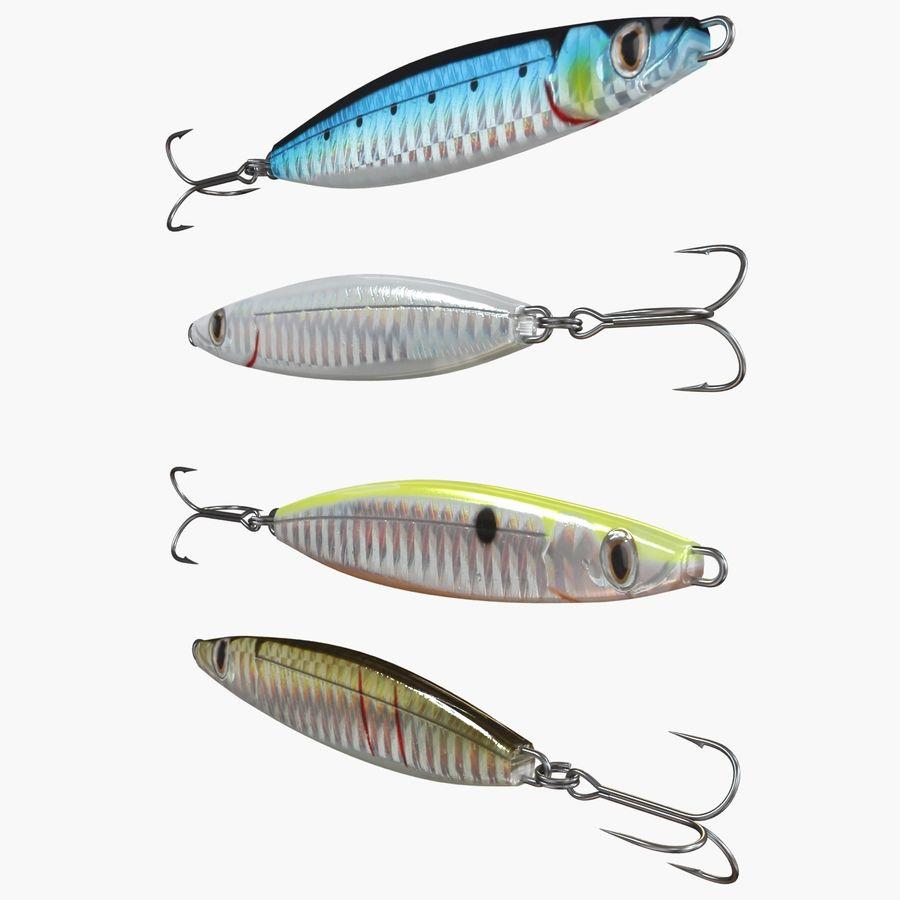 Рыболовная приманка 02 royalty-free 3d model - Preview no. 4