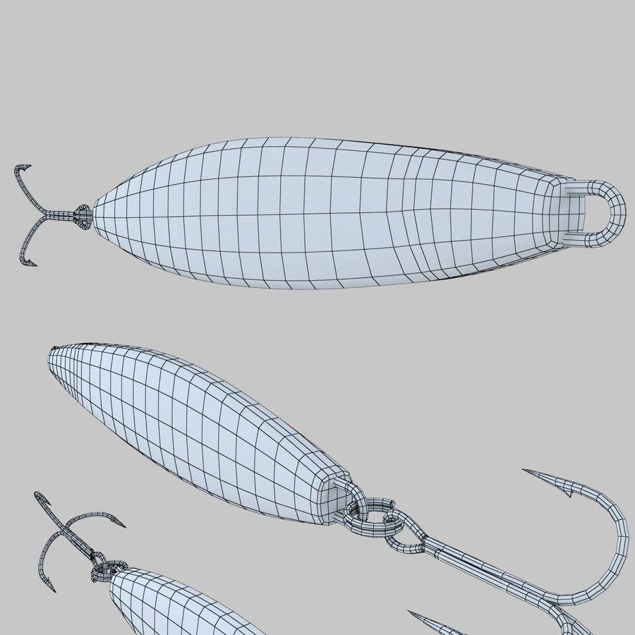 Рыболовная приманка 02 royalty-free 3d model - Preview no. 10