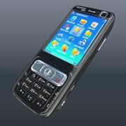 Nokia N73 черный 3d model