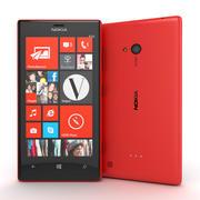 Nokia Lumia 720 Smartphone 2013 3d model