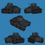 Tank (Panzer) Prototype TR-1 German WWII 3d model