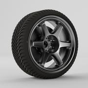 Roda e aro 3d model