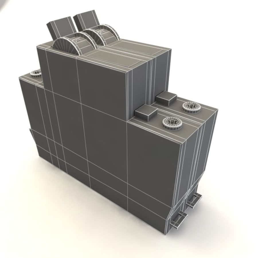 şalter royalty-free 3d model - Preview no. 5