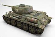 Tank T-34 85 3d model