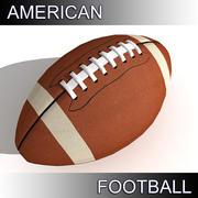 アメリカンフットボール 3d model