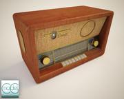듀엣 라디오 3d model