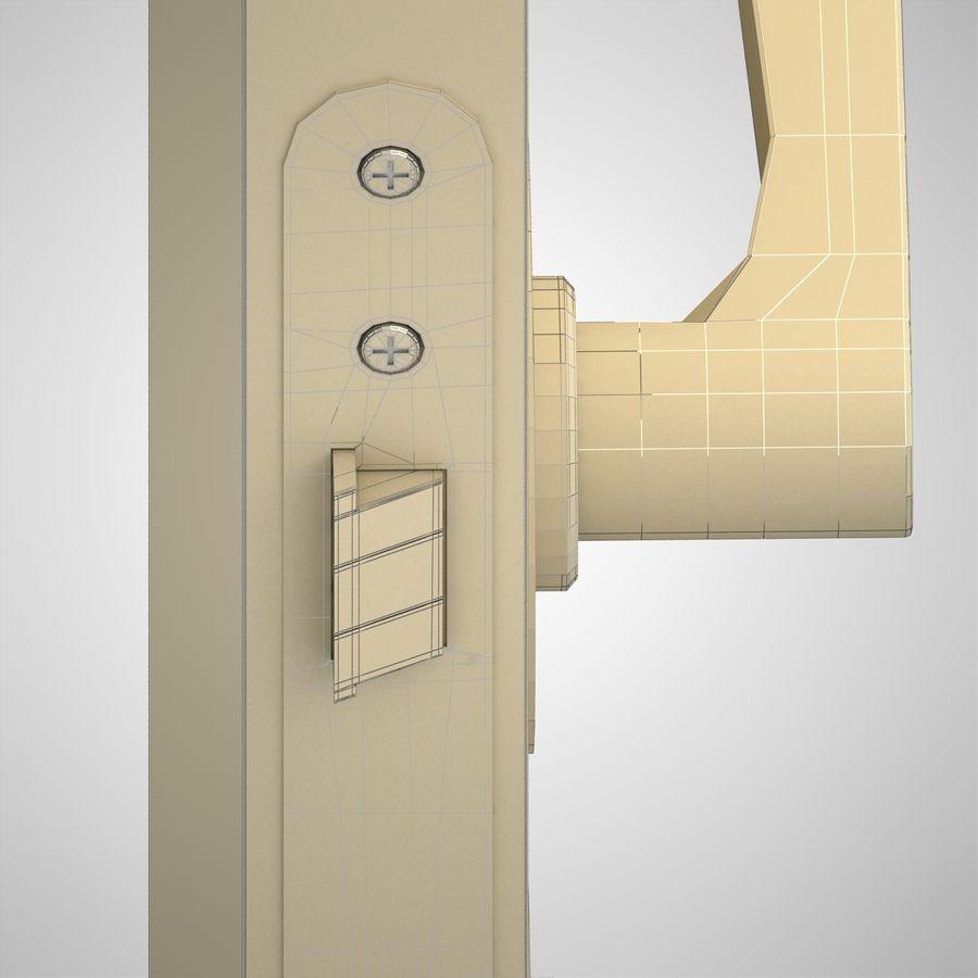 Ручка дверная ручка royalty-free 3d model - Preview no. 10