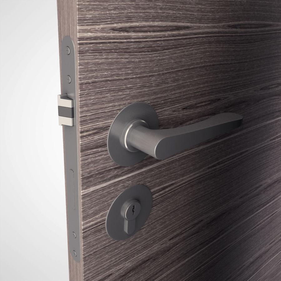 Ручка дверная ручка royalty-free 3d model - Preview no. 2