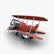 Plane Toy 3d model