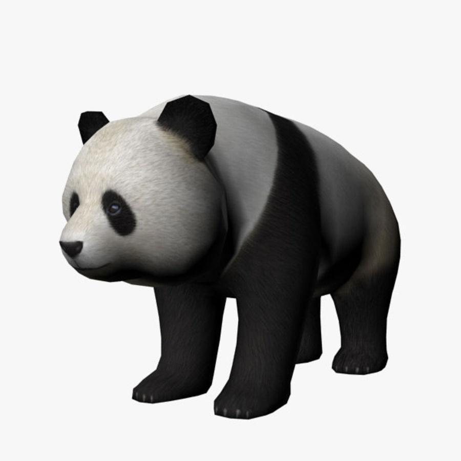 熊猫 royalty-free 3d model - Preview no. 1