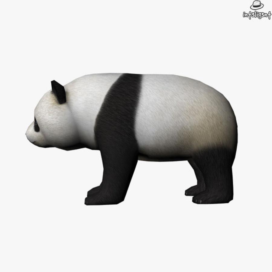 熊猫 royalty-free 3d model - Preview no. 4
