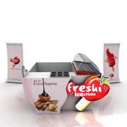 Cabine de sorvete 3d model