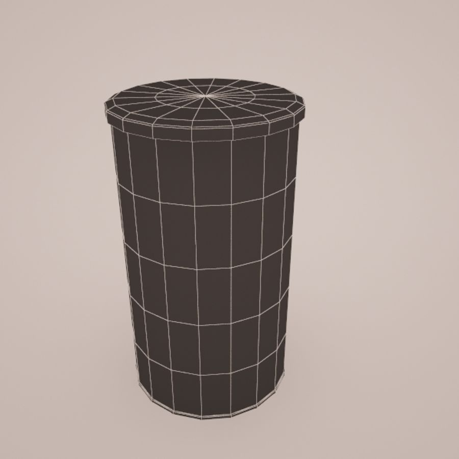 Universal animal royalty-free 3d model - Preview no. 4