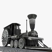 First Train 3d model