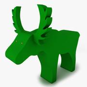 Moose decoration sponge 3d model