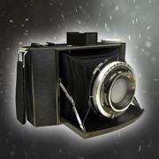 Vecchia macchina fotografica Olympus 3d model