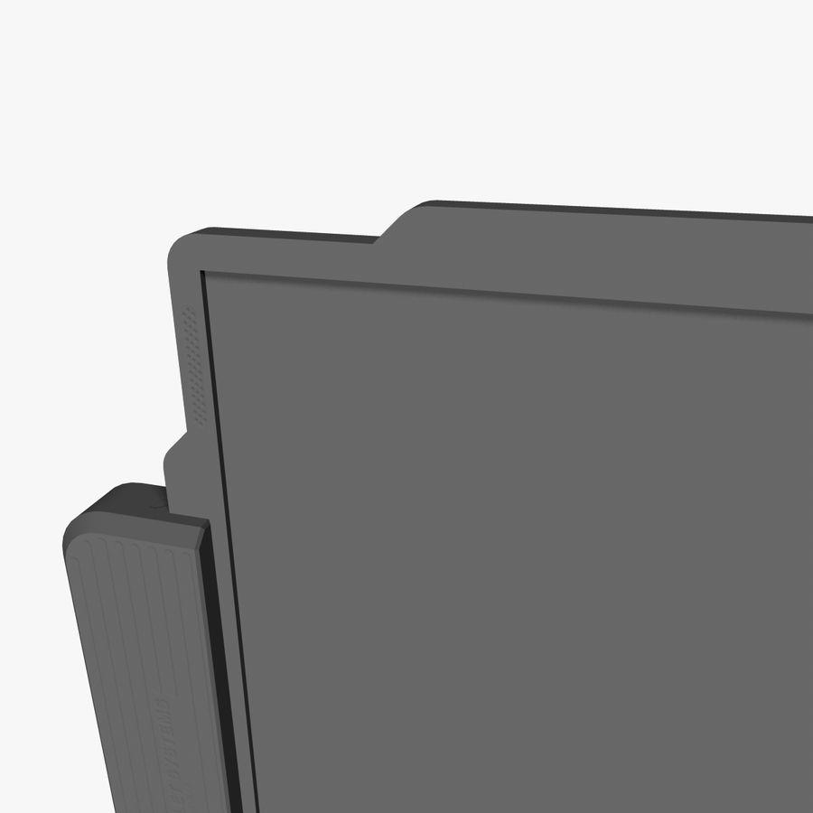 A4-gegevensblok royalty-free 3d model - Preview no. 10