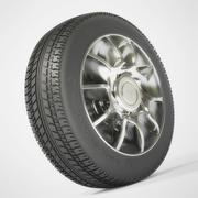 Tire 2 3d model