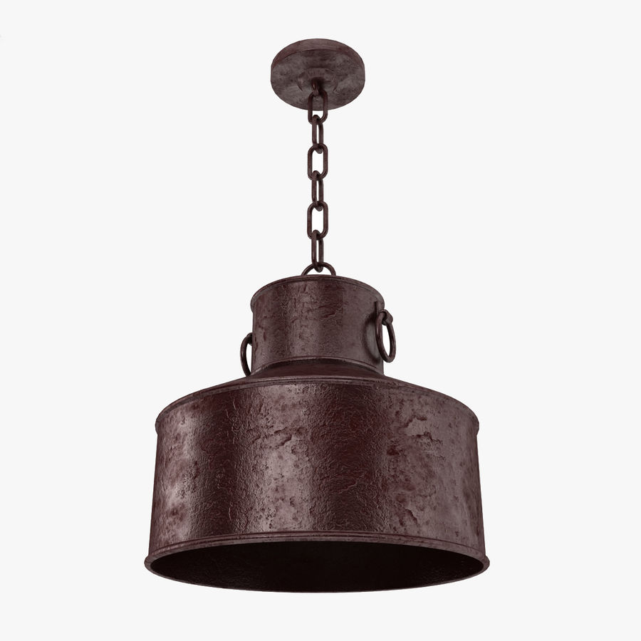 Pendant Lamp Vintage Collection royalty-free 3d model - Preview no. 10