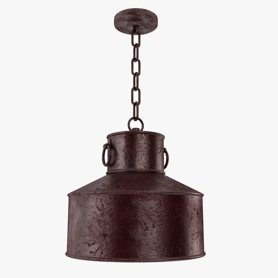 Pendant Lamp Vintage Collection royalty-free 3d model - Preview no. 11