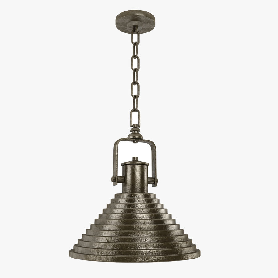 Pendant Lamp Vintage Collection royalty-free 3d model - Preview no. 16