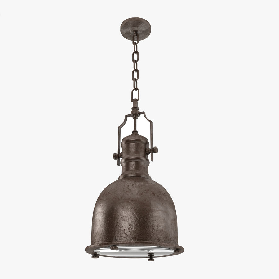 Pendant Lamp Vintage Collection royalty-free 3d model - Preview no. 5