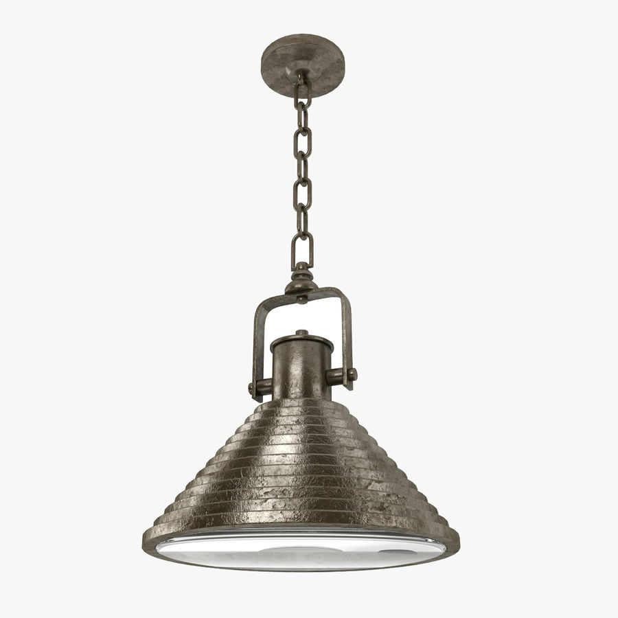 Pendant Lamp Vintage Collection royalty-free 3d model - Preview no. 15