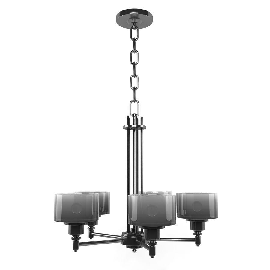 Coleção Chandelier royalty-free 3d model - Preview no. 5