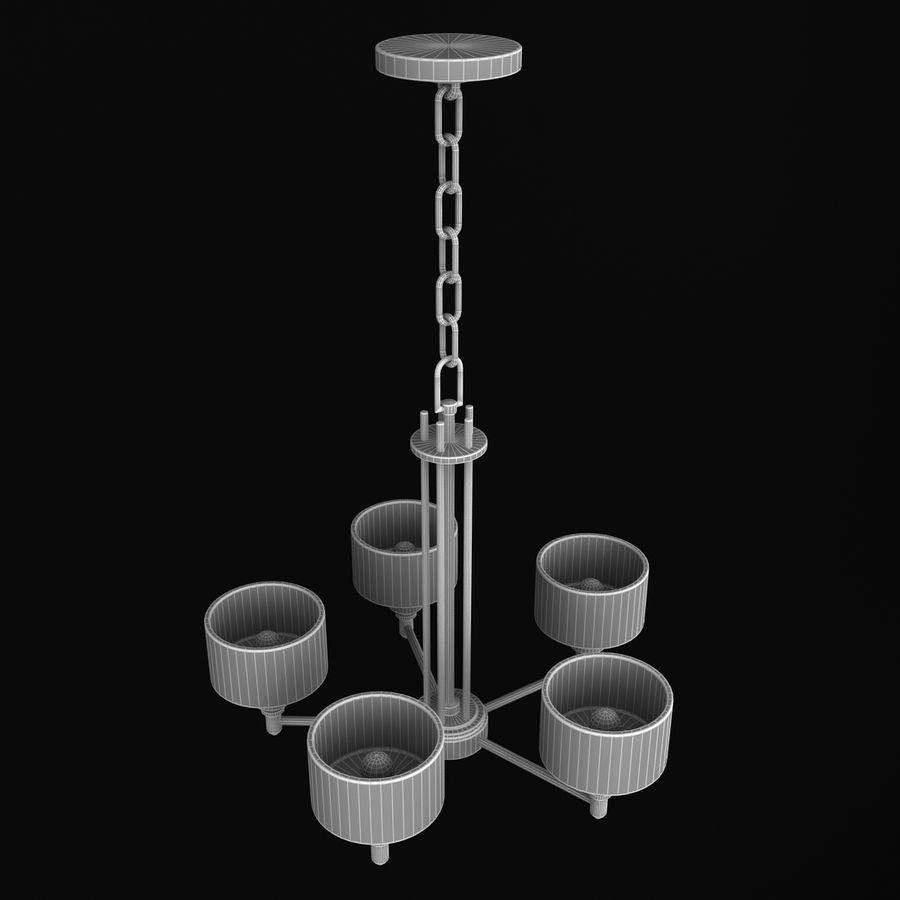 Coleção Chandelier royalty-free 3d model - Preview no. 23