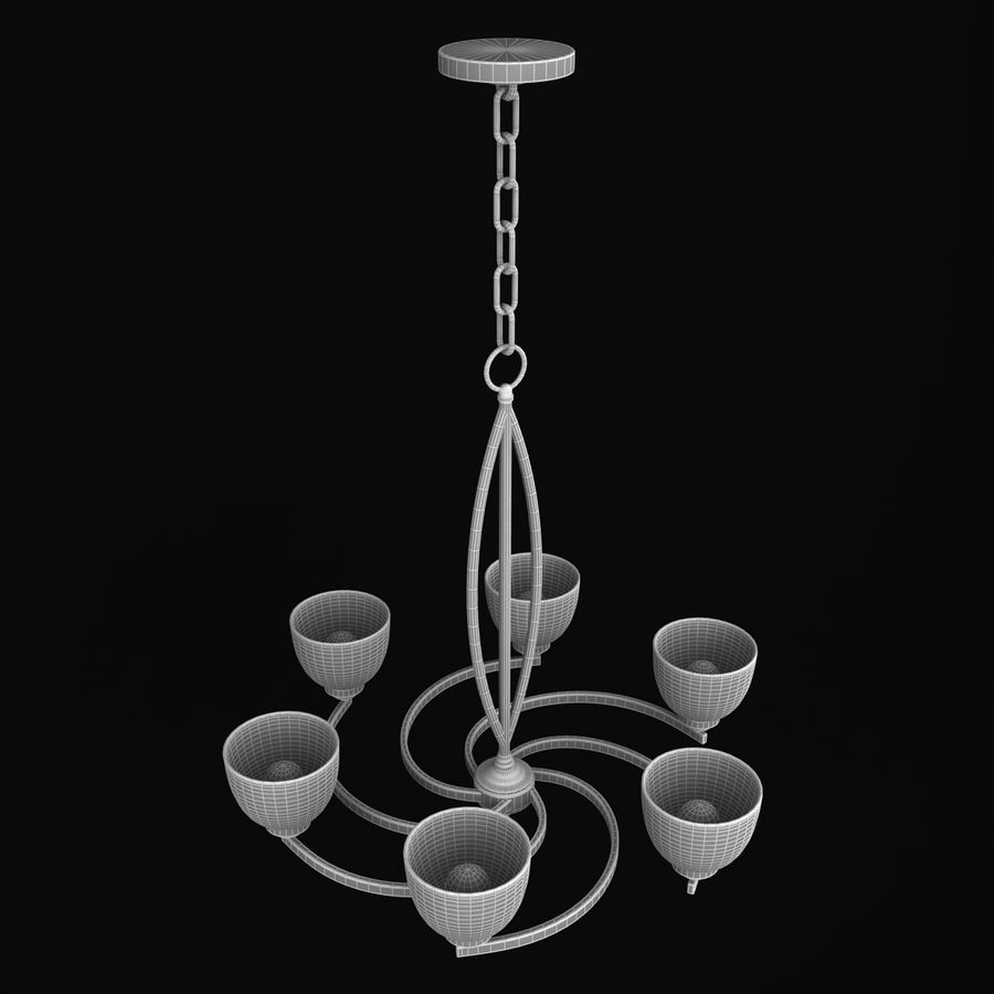 Collection Lustre royalty-free 3d model - Preview no. 29