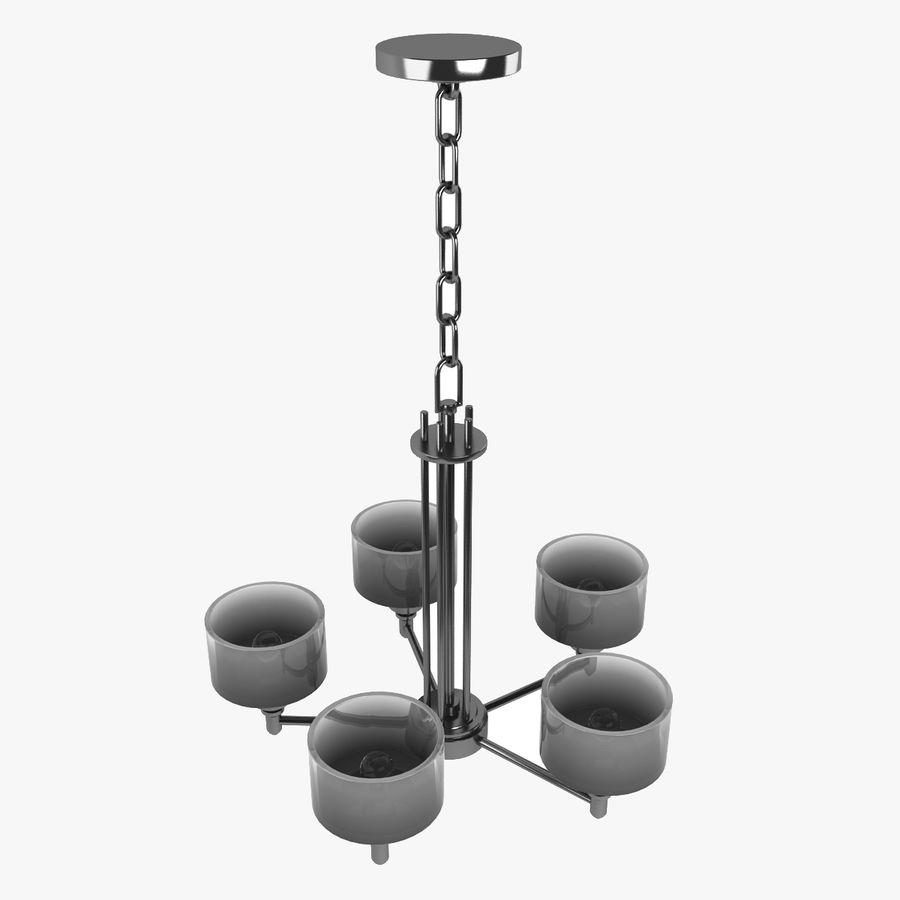 Coleção Chandelier royalty-free 3d model - Preview no. 4