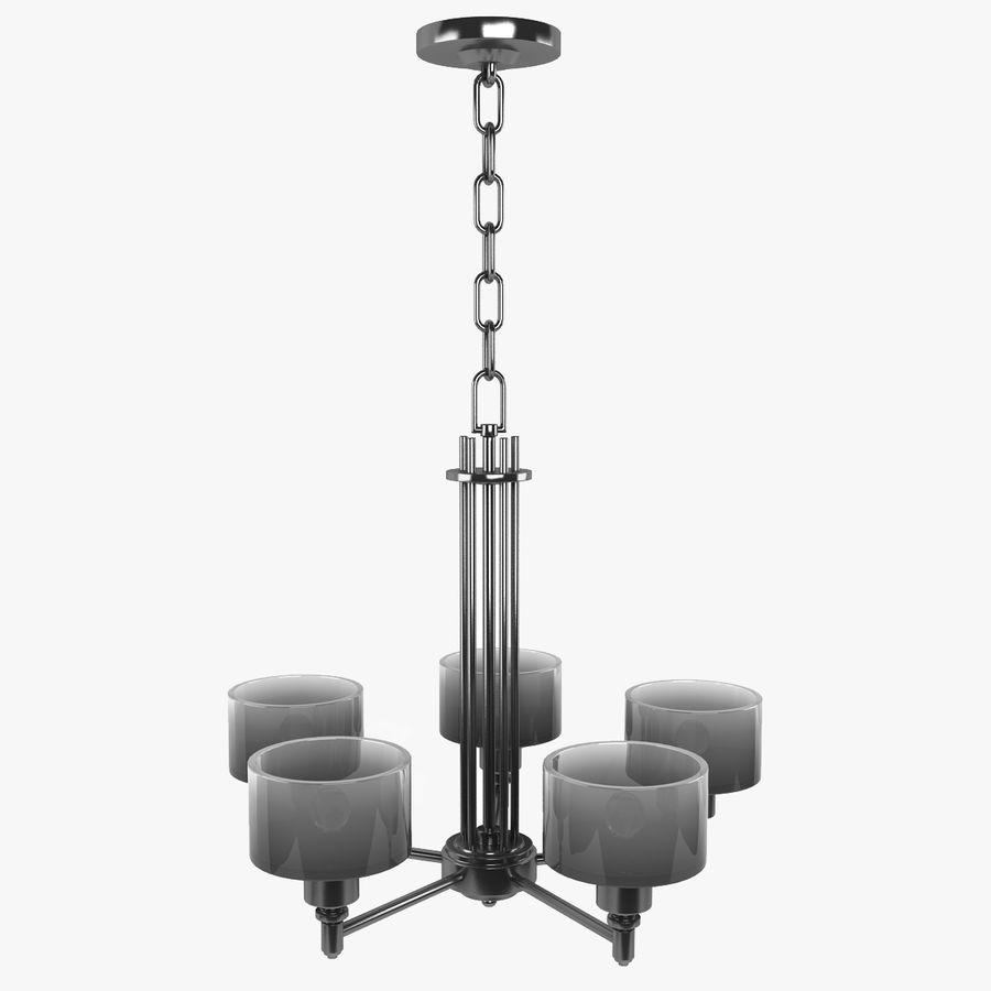 Coleção Chandelier royalty-free 3d model - Preview no. 2