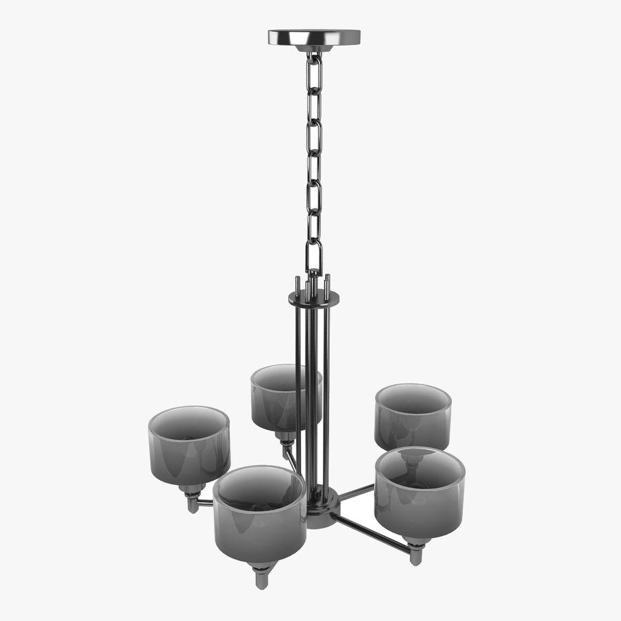 Coleção Chandelier royalty-free 3d model - Preview no. 6