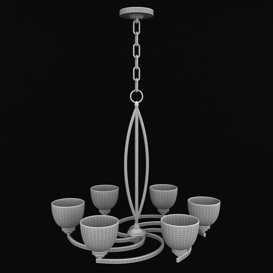 Coleção Chandelier royalty-free 3d model - Preview no. 28