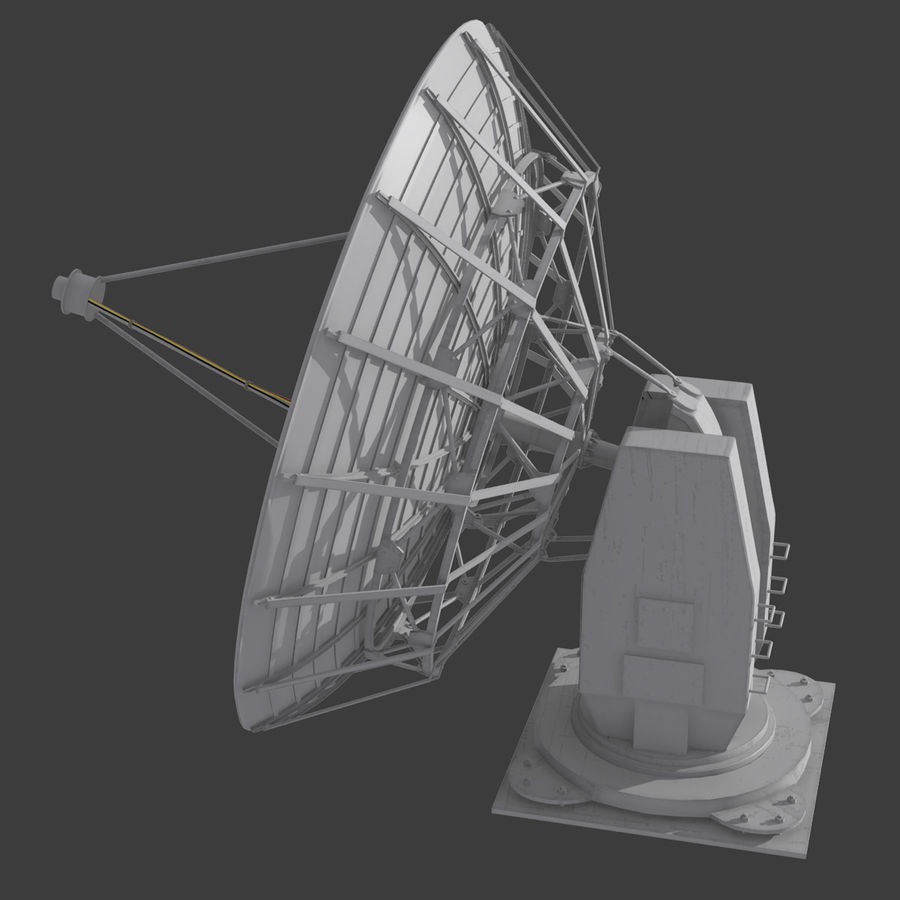 Antena parabólica royalty-free modelo 3d - Preview no. 6