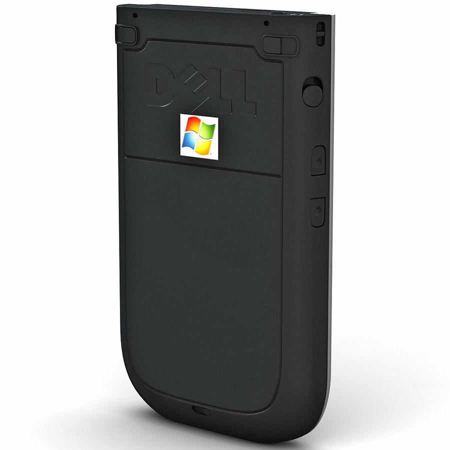 Dell Axim X51v royalty-free 3d model - Preview no. 5