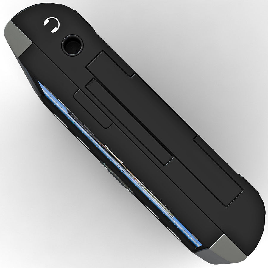 Dell Axim X51v royalty-free 3d model - Preview no. 10