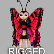 Butterfly 3d model